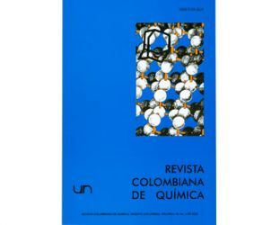 Revista colombiana de química. Vol. 38 No. 2