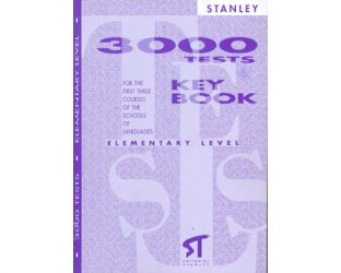 3000 tests. Elementary level. For the first three courses of the schools of languages. Key Book
