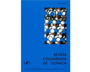 Revista colombiana de química. Vol. 39 No. 1