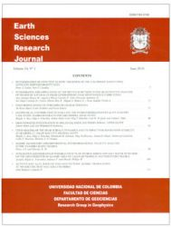 Earth Sciences Research Journal. Volumen 14. No. 1