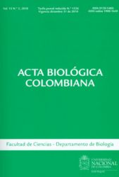 Acta biológica colombiana. Vol. 15 No. 2