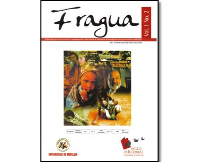 Revista Fragua. No. 2 Vol. 1