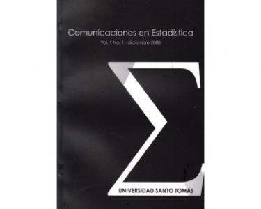 Comunicaciones en estadística Vol. 1 No. 1