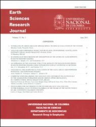 Earth Sciences Research Journal. Volumen 15. No. 1