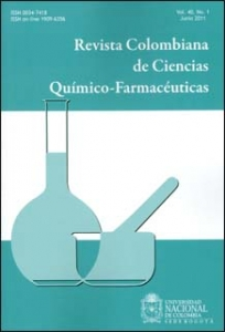 Revista colombiana de ciencias químico-farmacéuticas. Vol. 40. No. 1