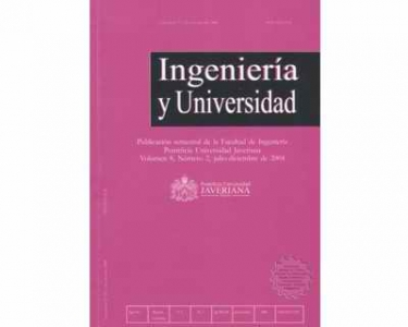 Ingeniería y Universidad Vol. 08 No. 2