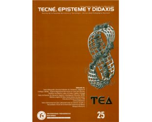 TED. Tecne, Episteme y Didaxis N° 25