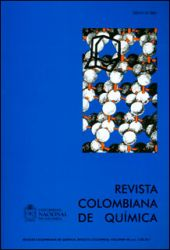 Revista colombiana de química. Vol 40 No. 3