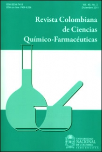 Revista colombiana de ciencias químico- farmacéuticas. Vol. 40. No. 2