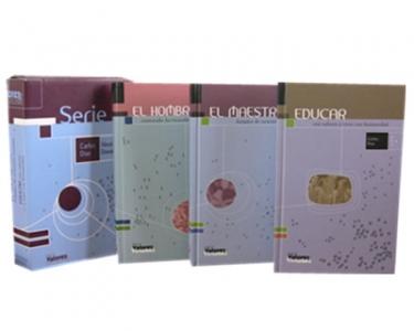 Educar con valores y virtudes. Serie 1 (Tres libros: El hombre, El maestro, Educar)