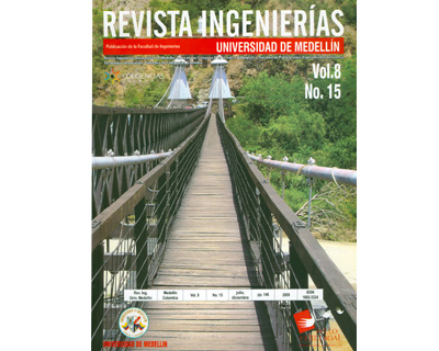 Revista Ingenierías. No. 15 Vol. 8