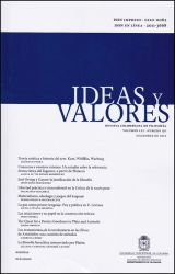 Ideas y valores. Revista Colombiana de Filosofía. Vol LXI No. 150