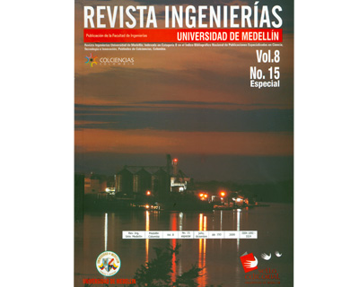 Revista Ingenierías. No. 15 Vol. 8. Especial
