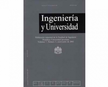 Ingeniería y Universidad Vol. 07 No. 1
