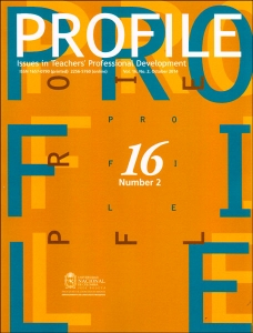 Profile. Issues in teachers professional development. Vol. 16 No. 2
