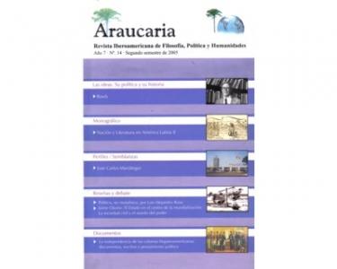 Araucaria. Revista Iberoamericana de Filosofía, Política y Humanidades. Año 7. No. 14