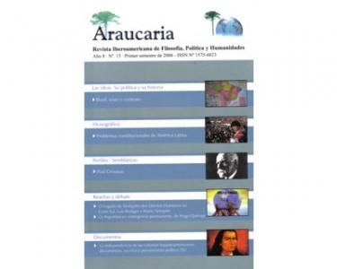 Araucaria. Revista Iberoamericana de Filosofía, Política y Humanidades. Año 8. No. 15