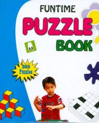 Funtime puzzle book (Blue)