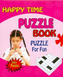Happy time puzzle book (Rosado)