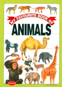 My favourite book of animals (Rústica)
