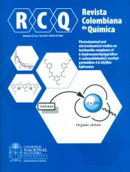 Revista colombiana de química Vol. 43 No. 1
