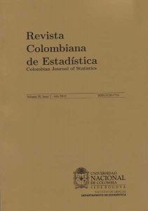 Revista Colombiana de Estadística Vol. 38 N. 2