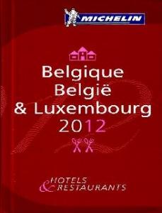 La guía Michelin Belgique, België & Luxembourg 2012