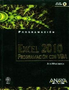 Excel 2010. Programación VBA (Incluye CD)