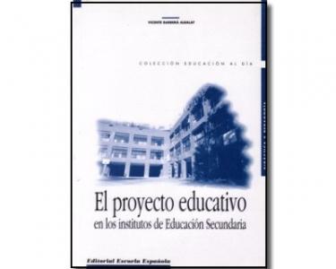 El proyecto educativo en los institutos de educación secundaria