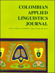 Colombian Applied Linguistics Journal. Number 2. Volume 13