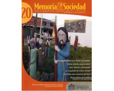 Memoria y Sociedad. Vol. 10 No. 20