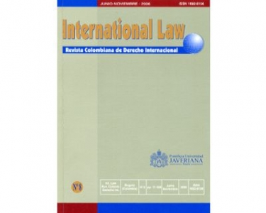 International Law - Revista Colombiana de Derecho Internacional, No. 08