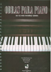 Obras para piano de Álvaro Ramírez Sierra