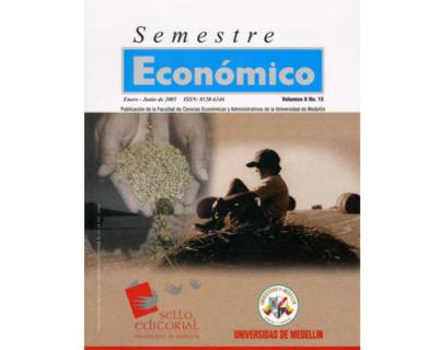 Revista Semestre Económico. No. 15 Vol. 8