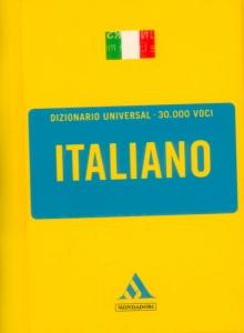Dizionario universal, 30.000 covi. Italiano