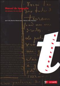Manual de tipografía del plomo a la era digital