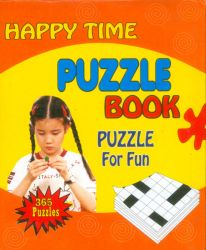 Happy time puzzle book (Naranja)