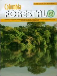Revista Colombia Forestal Vol. 15. No. 2