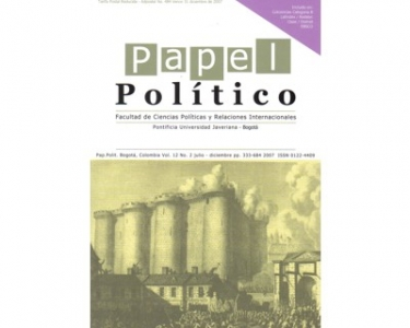 Papel Político Vol. 12 No. 2
