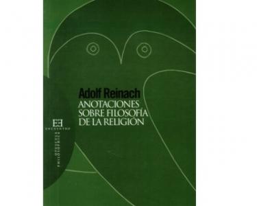 Anotaciones sobre filosofía de la religión
