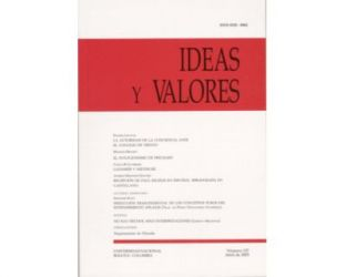 Ideas y Valores. Revista Colombiana de Filosofía. No. 127