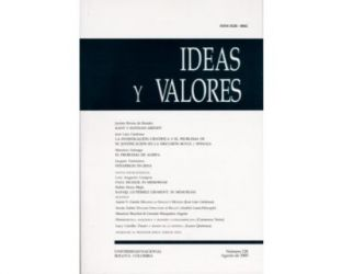 Ideas y Valores. Revista Colombiana de Filosofía. No. 128