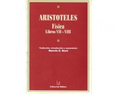 Aristóteles. Física. Libros VII-VIII