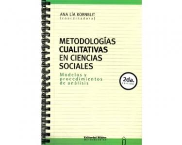 Metodologías cualitativas en ciencias sociales. Modelos y procedimientos de análisis