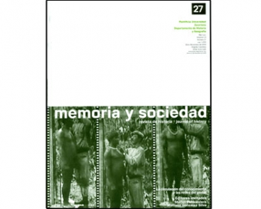 Memoria y sociedad. Vol. 13. No. 27