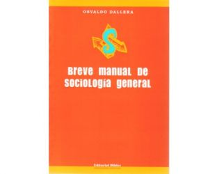 Breve manual de sociología general