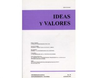 Ideas y Valores. Revista Colombiana de Filosofía. No. 095