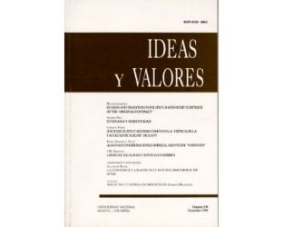 Ideas y Valores. Revista Colombiana de Filosofía. No. 108