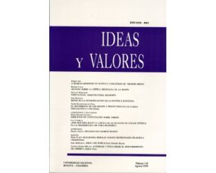 Ideas y Valores. Revista Colombiana de Filosofía. No. 110