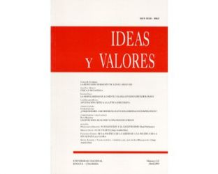 Ideas y Valores. Revista Colombiana de Filosofía. No. 112